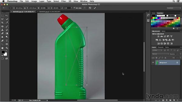 Adding product labels with vector art: Processing Product Photos with Photoshop