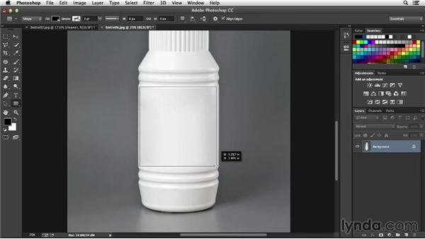 Transforming the label: Processing Product Photos with Photoshop