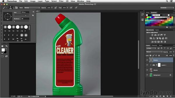 Adding realistic highlights: Processing Product Photos with Photoshop