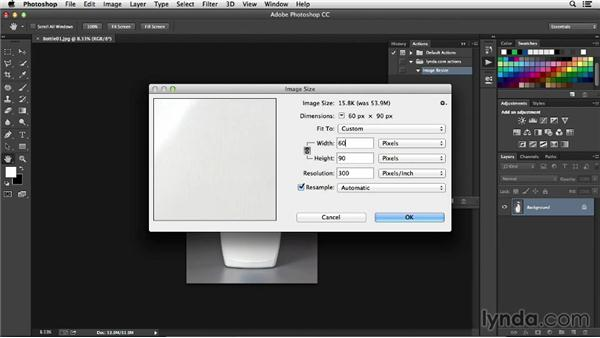 How to create an action in Photoshop: Processing Product Photos with Photoshop