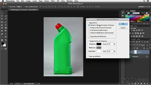 Automating color correction: Processing Product Photos with Photoshop