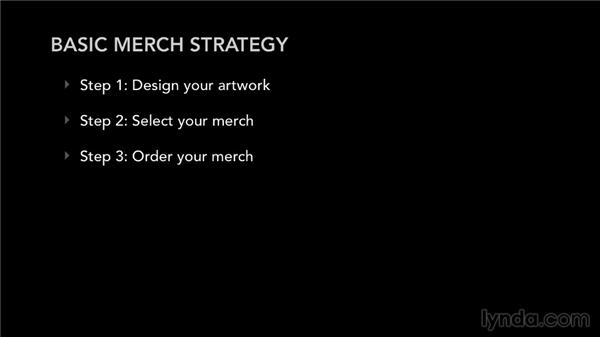 The basic strategy for selling merch: Selling Music Merchandise