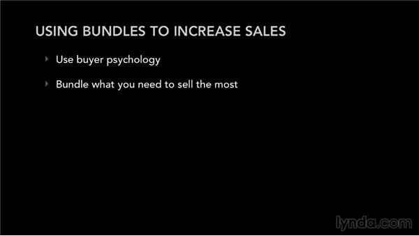 Using bundles to increase sales: Selling Music Merchandise