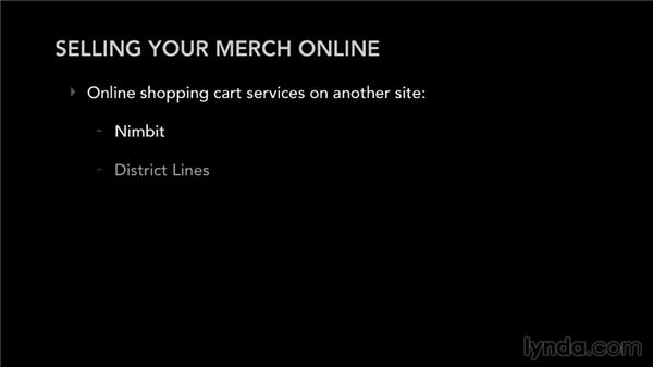 Selling your merch online: Selling Music Merchandise