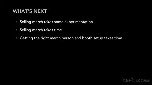 What's next?: Selling Music Merchandise