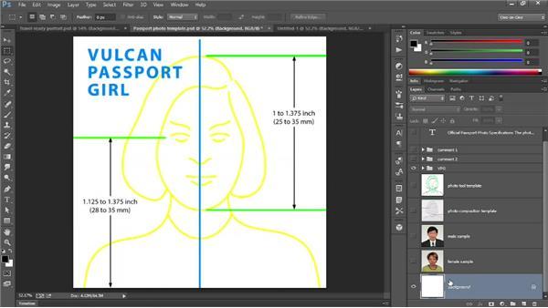 310 Creating the perfect passport photo: Deke's Techniques