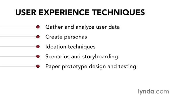 Welcome: UX Design Techniques: Paper Prototyping (2014)