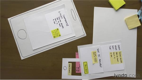 What is paper prototyping?: UX Design Techniques: Paper Prototyping