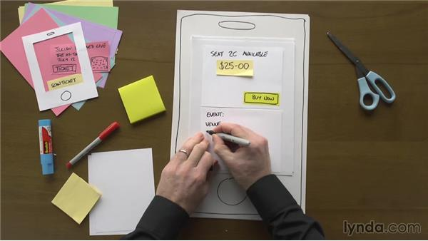 Tips to paper prototyping: UX Design Techniques: Paper Prototyping