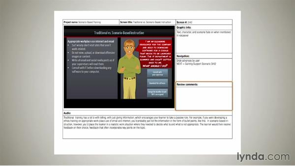 Welcome: Instructional Design Essentials: Storyboarding