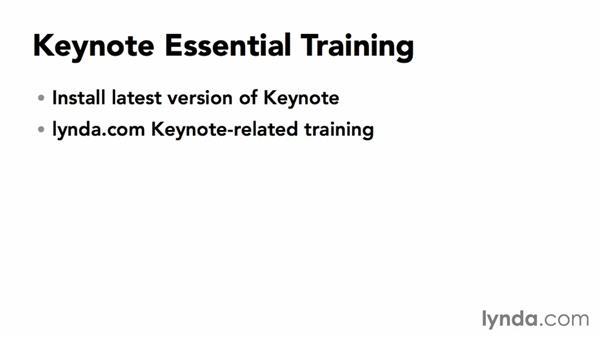 Next steps: Keynote 6 Essential Training
