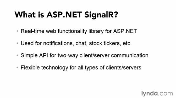 Introducing ASP.NET SignalR: Up and Running with ASP.NET