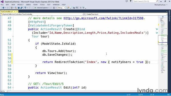 Solution: Detecting updates in real time: Up and Running with ASP.NET