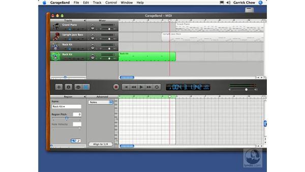 Creating a click track: GarageBand 2 Essential Training