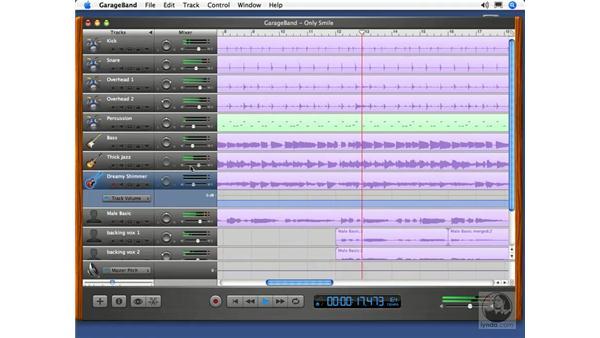 Exporting to iTunes: GarageBand 2 Essential Training