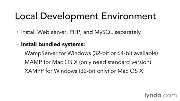 Development environment requirements: Dreamweaver CS6 and WordPress 3.8: Core Concepts