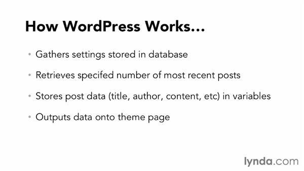 Understanding WordPress structure: Dreamweaver CS6 and WordPress 3.8: Core Concepts