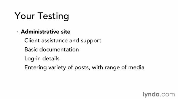 Testing and fine-tuning: Dreamweaver CS6 and WordPress 3.8: Core Concepts