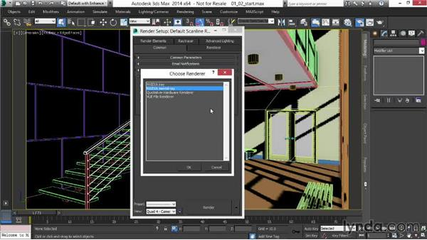 Changing the rendering engine: Rendering Interiors in 3ds Max
