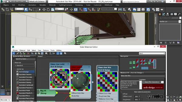 Making glass and tile sparkle and shine: Rendering Interiors in 3ds Max