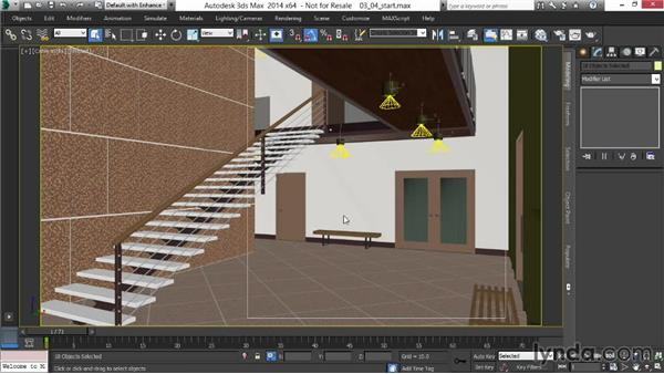 Adjusting luminous and lit surfaces: Rendering Interiors in 3ds Max
