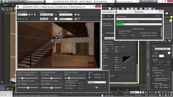 Fine-tuning Photographic Exposure for dusk: Rendering Interiors in 3ds Max