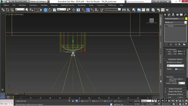 Adding interior-lighting accents: Rendering Interiors in 3ds Max
