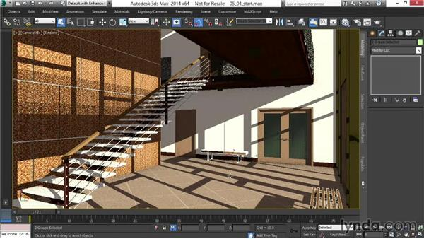 Setting up custom masks for compositing flexibility: Rendering Interiors in 3ds Max