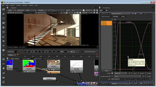 Fine-tuning color using rendered masks: Rendering Interiors in 3ds Max