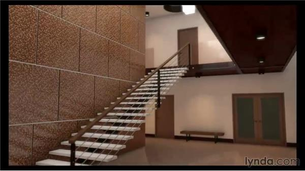 Viewing the final rendered animation: Rendering Interiors in 3ds Max