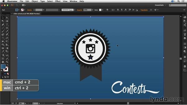 Locking artwork in Illustrator: Creative Quick Tips