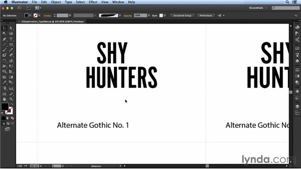 Evaluating typefaces: Designing a Logo for a Band