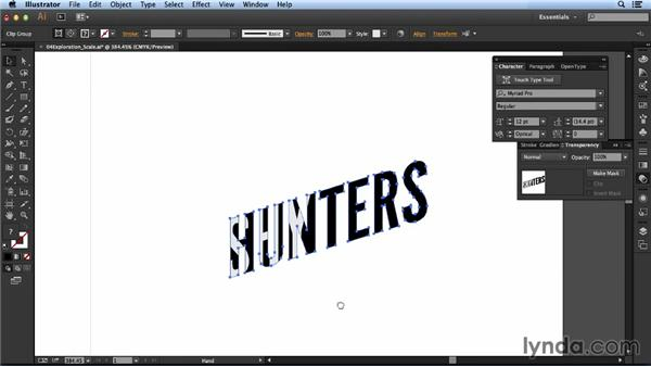 Combining the words: Designing a Logo for a Band