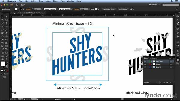 Formatting the logo for different uses: Designing a Logo for a Band