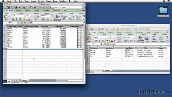 Comparing flat and relational databases: FileMaker Pro 13 Essential Training