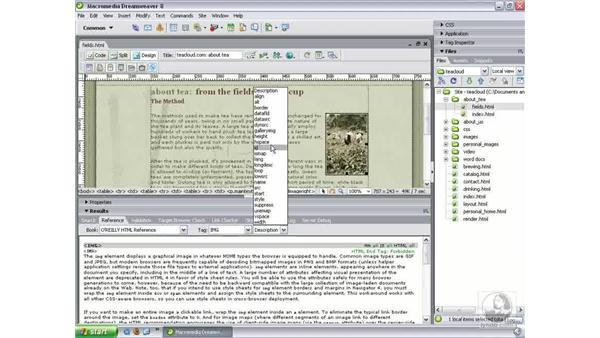 Updated reference material: Dreamweaver 8 New Features