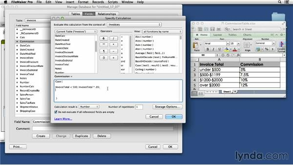 Using logic functions: FileMaker Pro 13 Essential Training