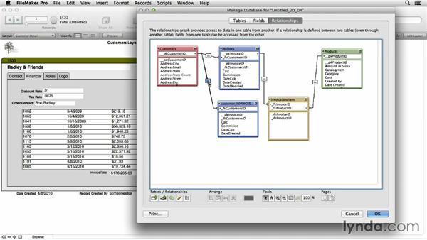 Understanding multipredicate relationships: FileMaker Pro 13 Essential Training