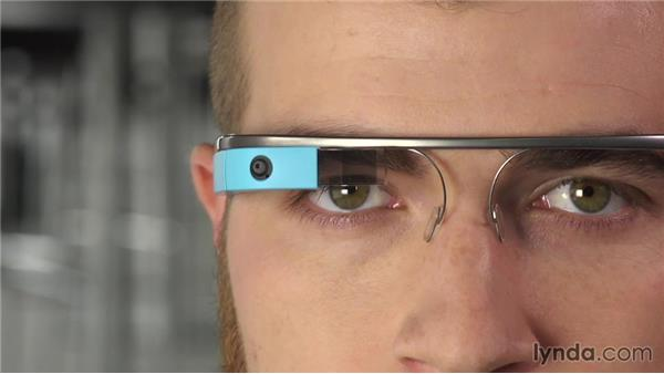 Using physical gestures: Up and Running with Google Glass