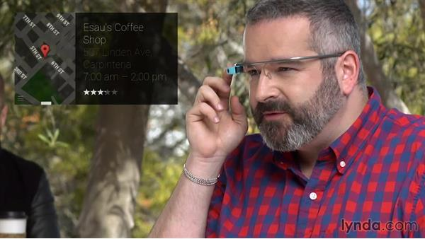 Scenario: Using Glass: Up and Running with Google Glass