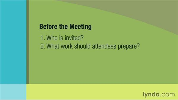 Building a better meeting: Management Tips