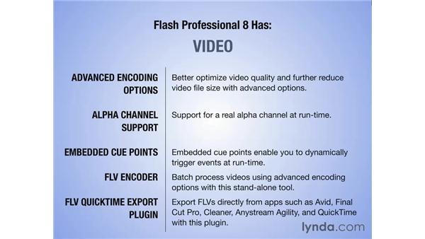 Flash 8 vs. Flash Professional 8: Flash Professional 8 Essential Training