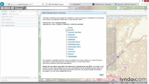 Exploring GIS data with the National Map Viewer: Real-World GIS