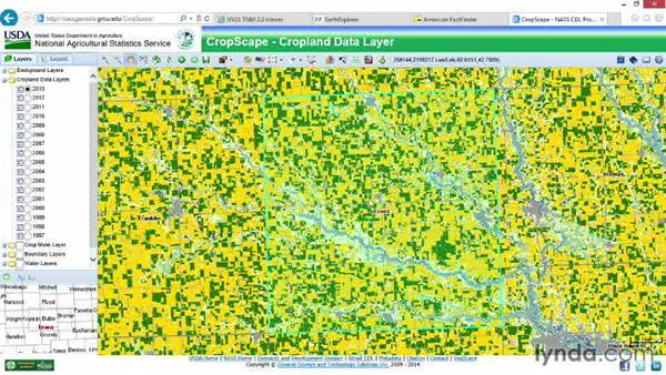 Exploring agriculture with CropScape: Real-World GIS
