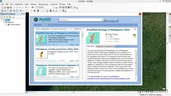 Accessing data in proprietary formats: Real-World GIS