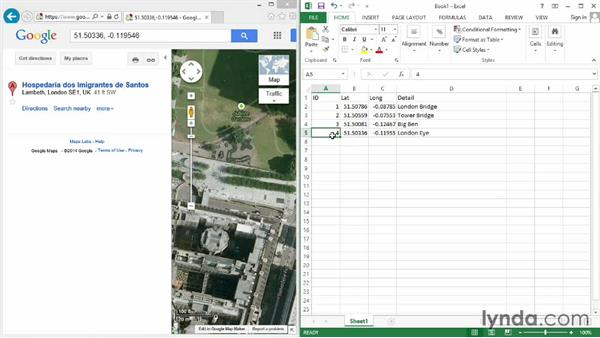 Adding map data to a spatial database: Real-World GIS