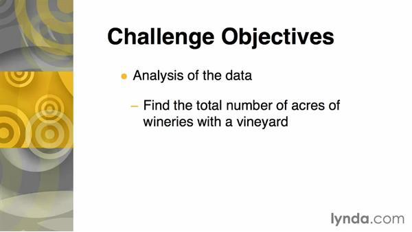 Challenge: Analysis of the data: Real-World GIS