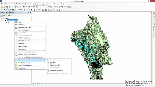 Solution: Import new data: Real-World GIS