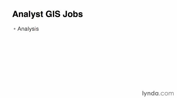 Exploring the types of GIS jobs: Real-World GIS