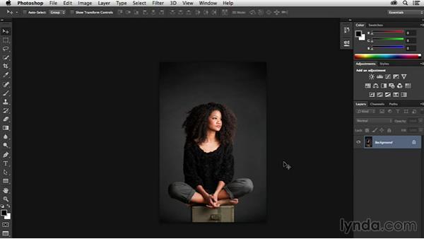 Welcome: Portrait Project: Retouching a Studio Portrait